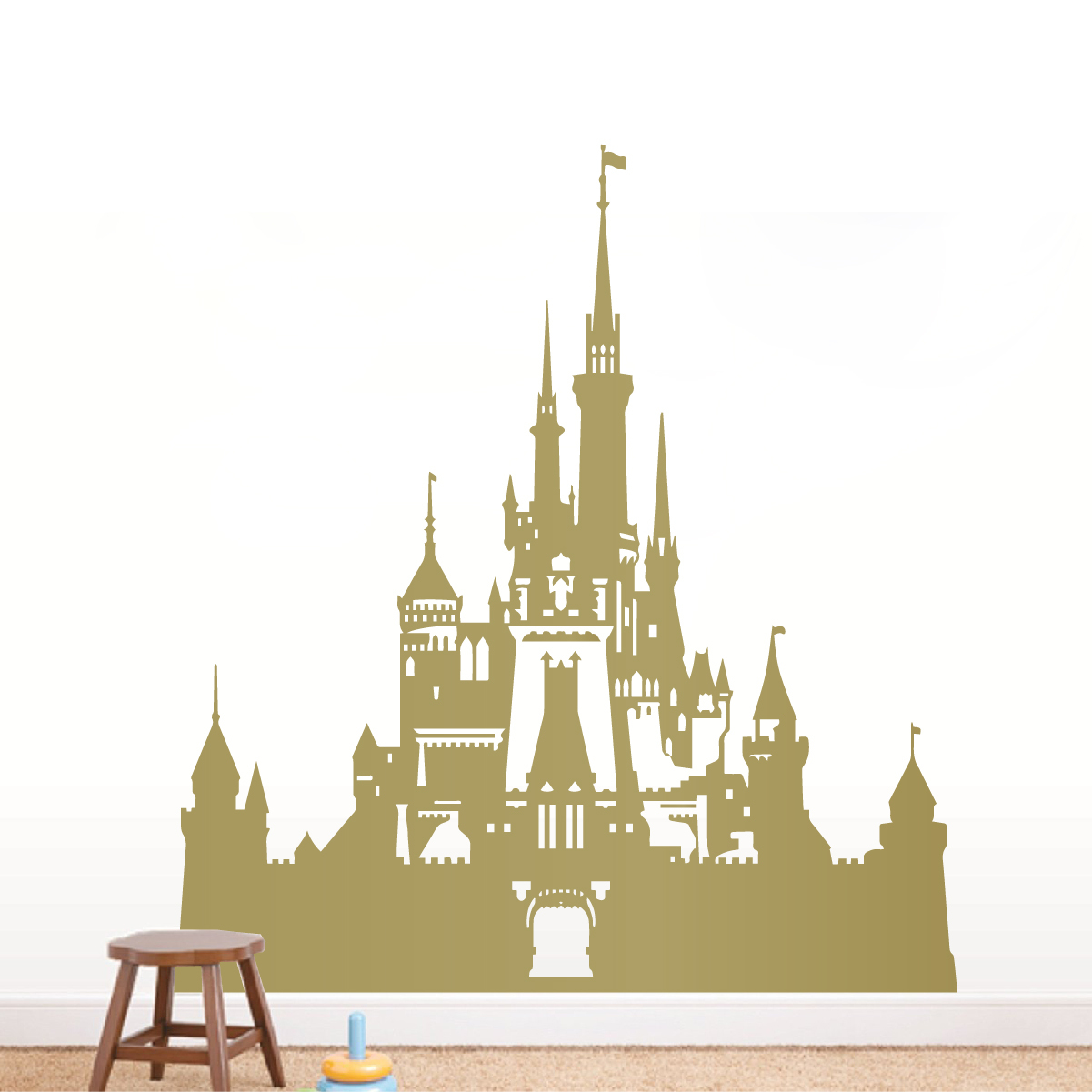 Disney Castle Wall Decal Sticker
