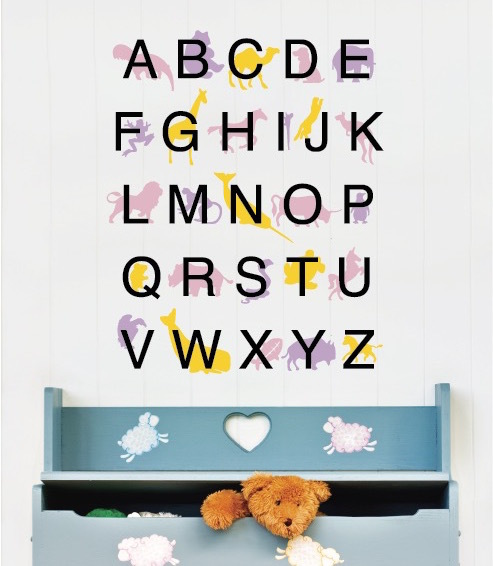 ABC Wall Decal Sticker