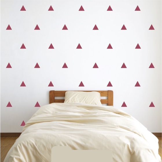 Triangle Wall Decal Sticker