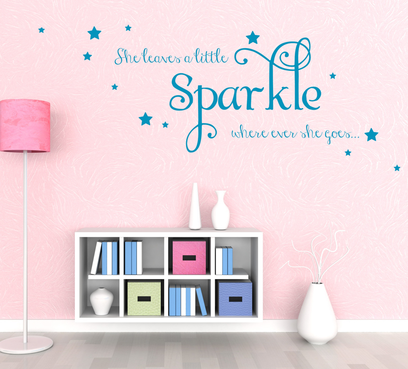 Girls Quote Wall Decal Sticker