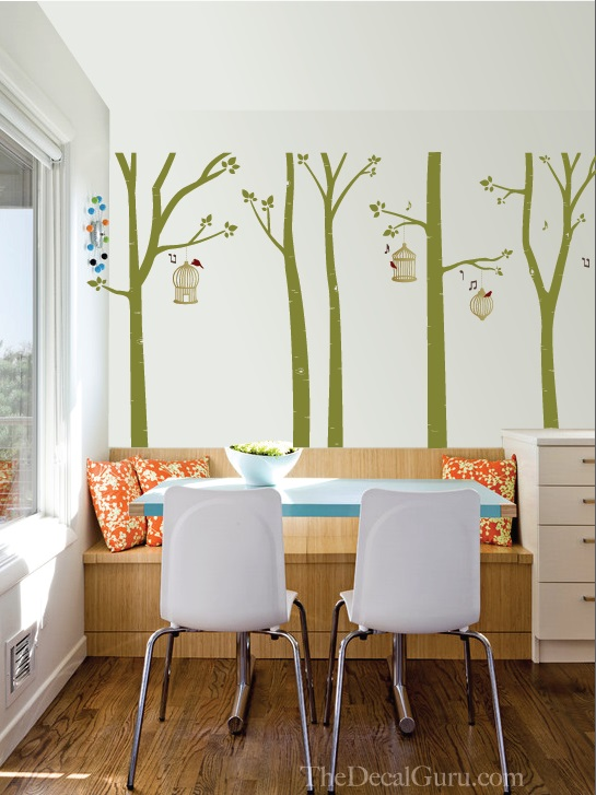 Tree Wall Decals and More Affordable Ideas for a Nature-Themed ...
