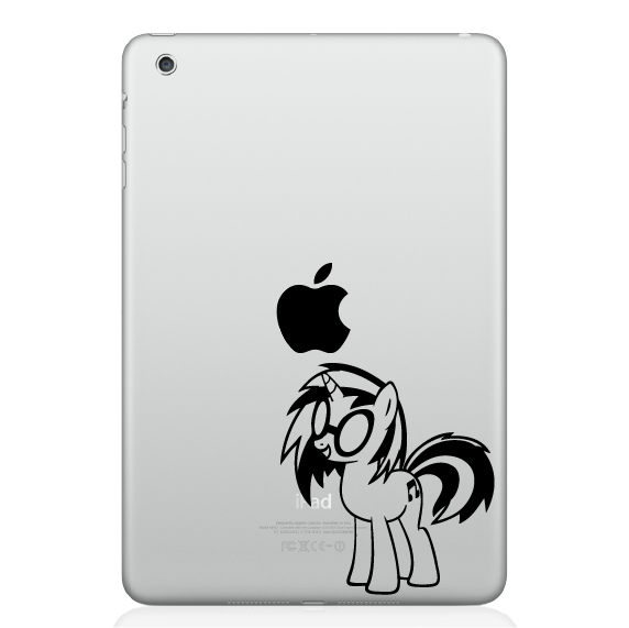 Little Pony Mac Decal Sticker