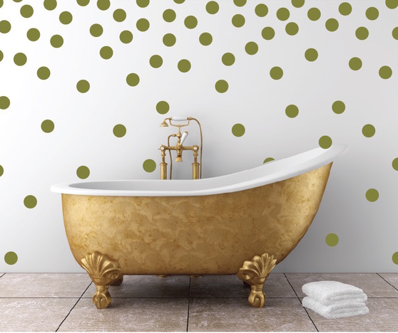 Polka Dots Wall Decal Sticker