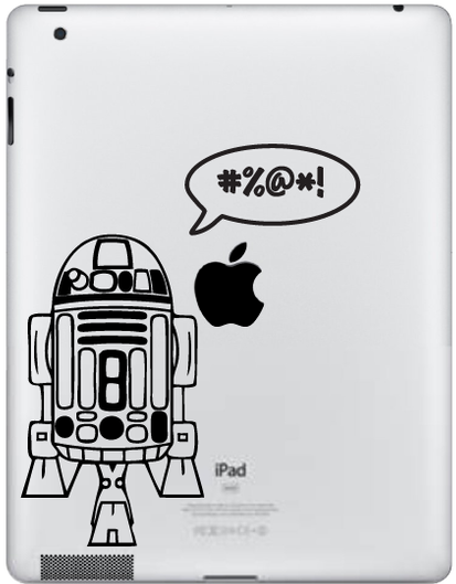 Star Wars Tablet Decal Sticker