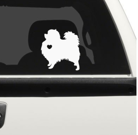 Dog Car Decal Sticker