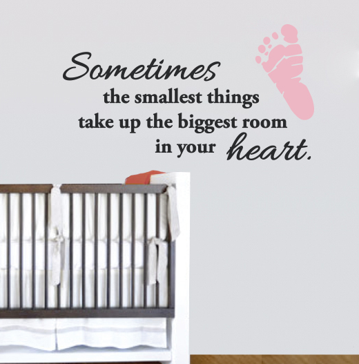 Nursery Wall Decal Sticker