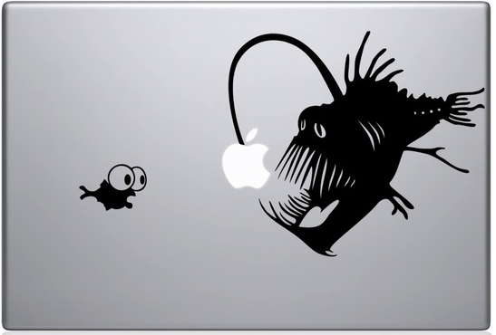 Finding Dory Mac Decal Sticker