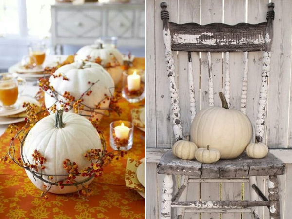 pumpkins and squash - Decorating For Autumn