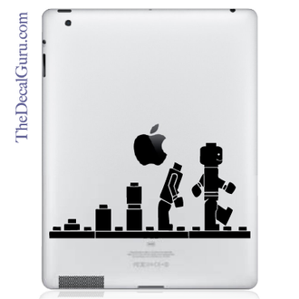 Lego Evolution iPad Decal sticker