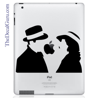 Love at First Sight iPad Decal sticker