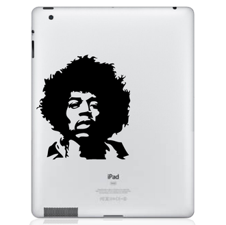 Jimi Hendrix iPad Decal