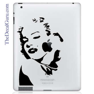 Marilyn MonRoe iPad Decal sticker