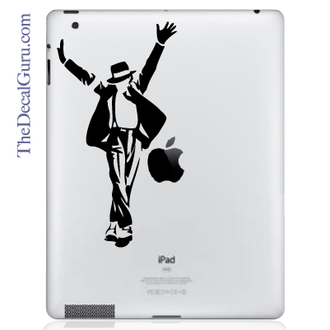 Michael Jackson iPad Decal