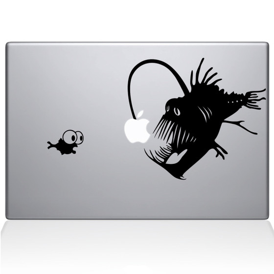 Little Nemo Macbook Decal Sticker Black