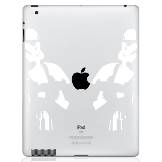 Storm Trooper Ipad Decal