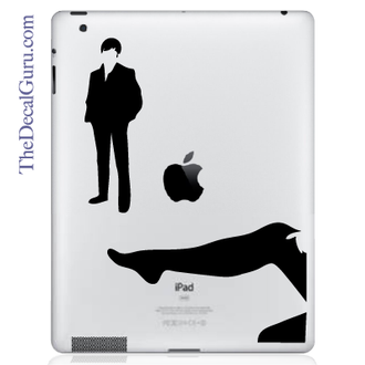 Ooh La La iPad Decal