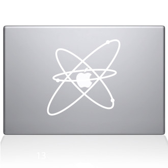 Atom Macbook Decal Sticker