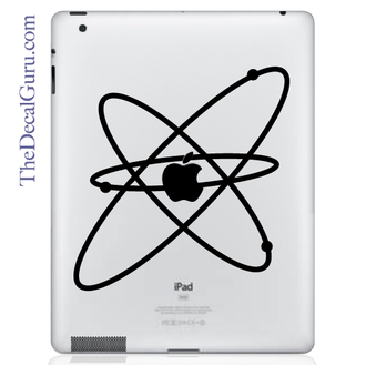 Atom iPad Decal