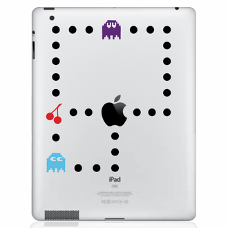 Pacman Color iPad Decal