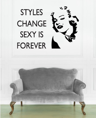 Sexy is Forever Wall Decal