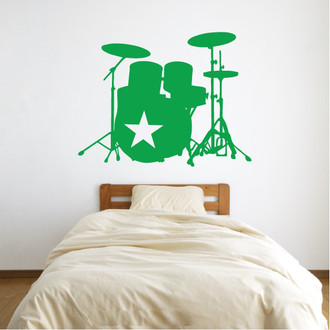 Star Drummer Wall Decal