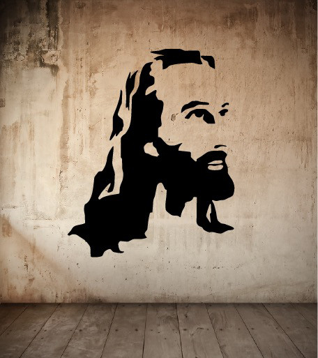 Wall Decor Jesus : Jesus christ wall decals the decal guru