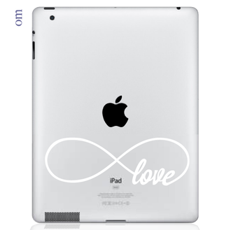 Infinite Love iPad Decal