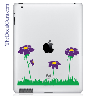 Spring Flowers iPad Decal