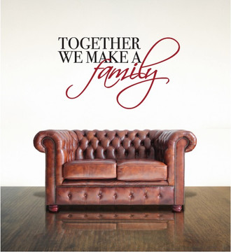 Together Family Wall Decal