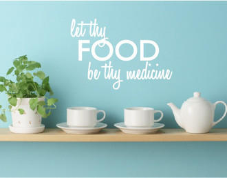 Let Thy Food Wall Decal