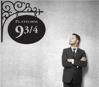 Harry Potter Platform 9 & 3/4 Wall Decal