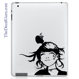 Star Girl iPad Decal sticker