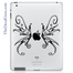 Swirly Wings iPad Decal sticker