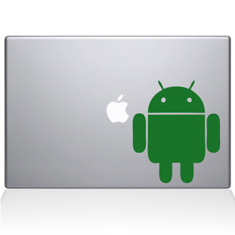 Android Macbook Decal Sticker Green