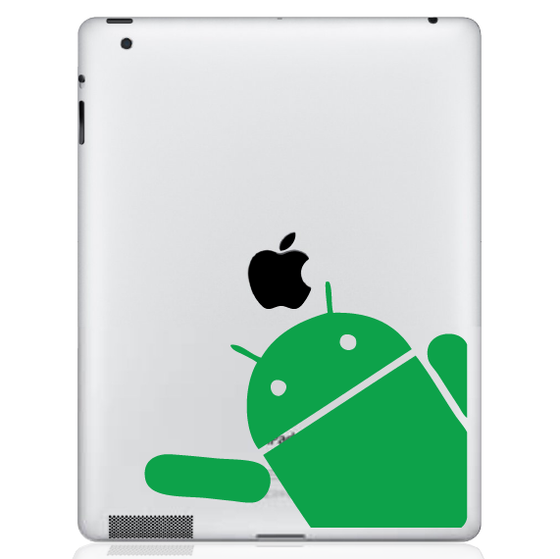 Android Wave iPad Decal