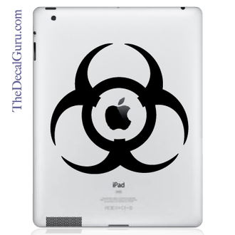 Toxic iPad Decal