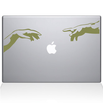 Creation of Apple Macbook Decal Sticker Gold