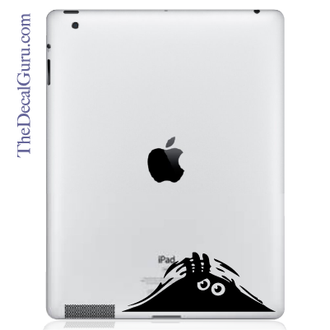 Hiding Monster iPad Decal