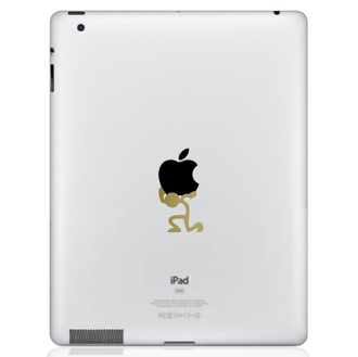 Atlas Stick Figure iPad Decal