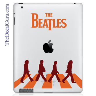 Beatles Abbey Road iPad Decal