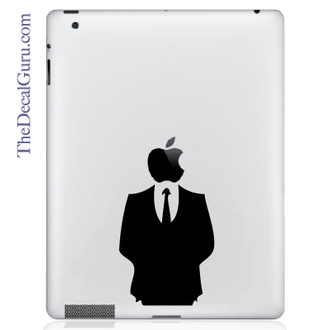 Man in Suit iPad Decal