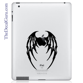 Demon Wings iPad Decal