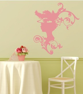 Like A Lady Wall Decal