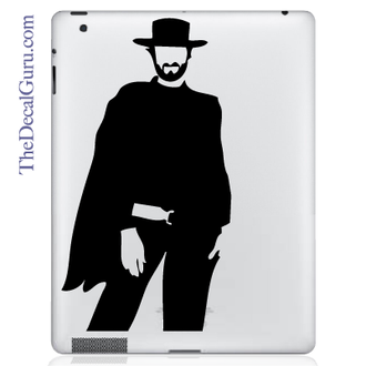 Clint Eastwood iPad Decal