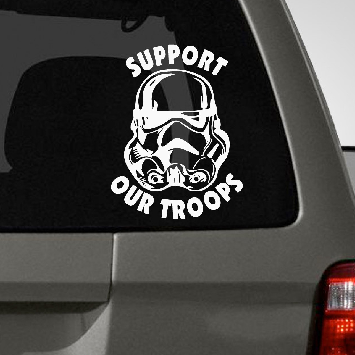 Support Our Troopers Car Decals The Decal Guru