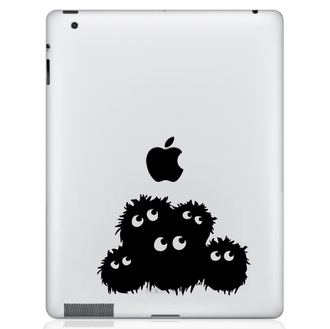 Fuzzies iPad Decal