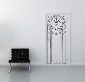 Door of Moria Slim Wall Decal