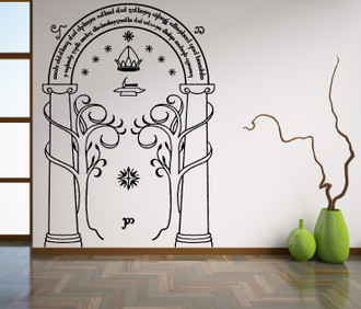 Door of Moria Wall Decal