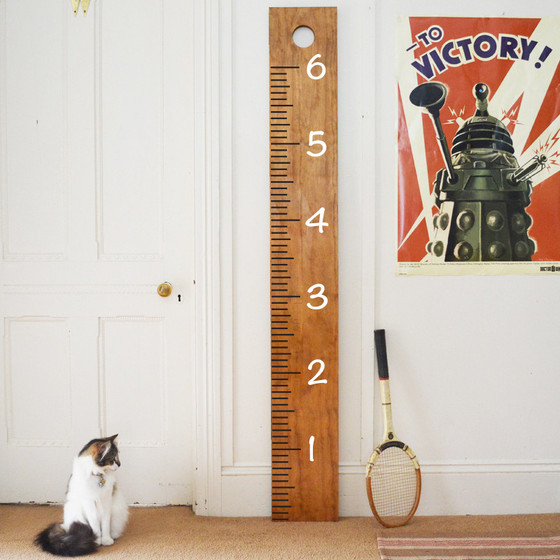 Giant ruler growth chart wall decals the decal guru