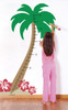 Palm Tree Growth Chart Wall Decal